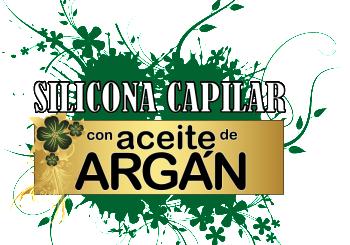 Silicona Capilar con Aceite de Argan