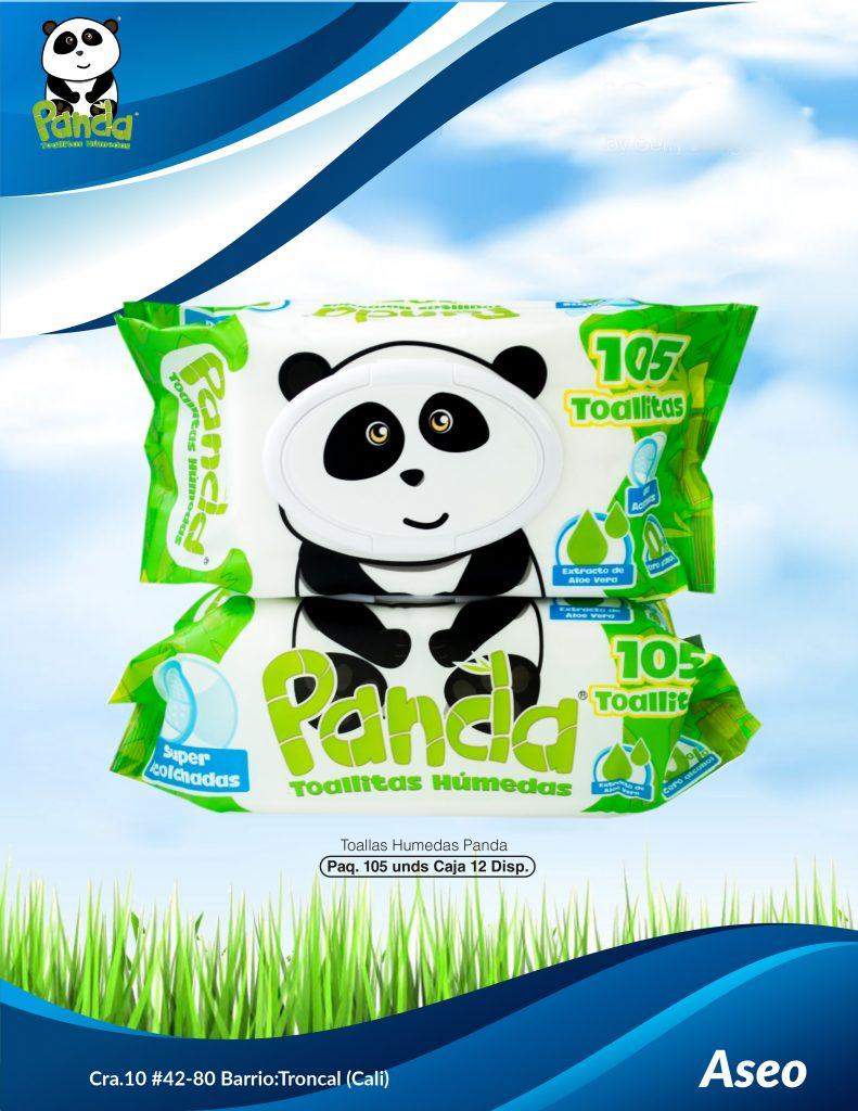 Pañitos Húmedos Panda